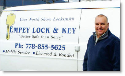 Empey Lock and Key